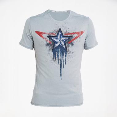 harga CoreNation Ultra Dry Captain Kaos Olahraga Pria - Light Grey [45-01] Blibli.com