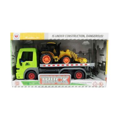 harga Toy Addict F110756 Truk Trailer dan Kendaraan Konstruksi Friction Mainan Anak Blibli.com
