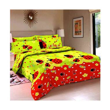 Belladona Lady Bug Set Sprei [Sarung Bantal 4 pcs]