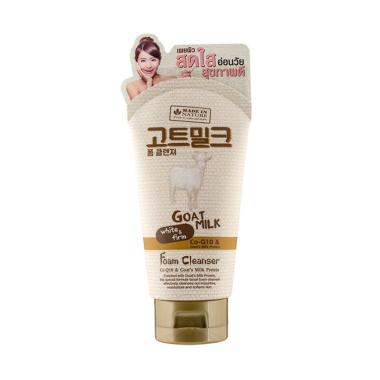 harga BEAUTY BUFFET Made In Nature Goat Milk Foam Milk Foam Cleanser [100 mL] Blibli.com