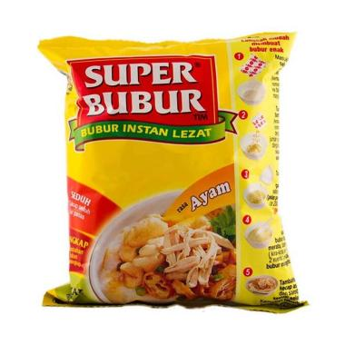 harga SUPER BUBUR Bubur Instant [45 g] Blibli.com
