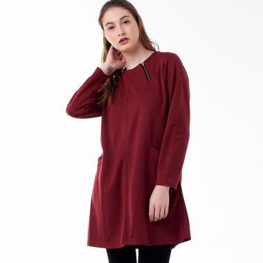 Ie-De Mode Camela PR20 Tunik Wanita - Maroon