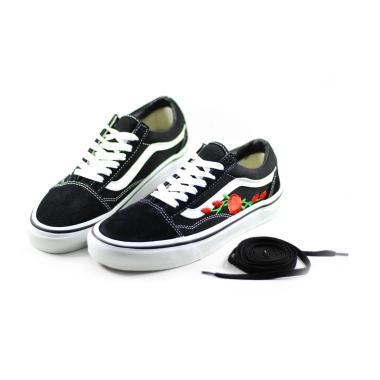 Vans Old Skool Rose Wafel EHC Sepatu Sneakers Wanita
