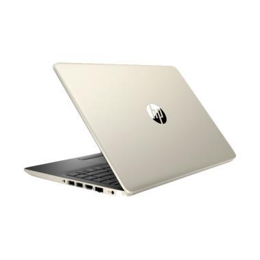 harga HP 14S-CF1047TU Notebook - Gold [N4205U/ U-INTHD/ 1TB/ 4GB/ W10/ 14 Inch] Blibli.com