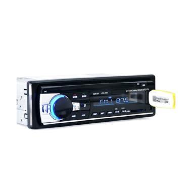 harga AMP Tape Audio Mobil Single Din [Bluetooth/ USB/ FM Radio] Blibli.com