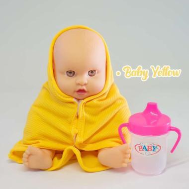 harga Toylogy Boneka Bayi + Dot Botol Cup Mainan Anak Perempuan