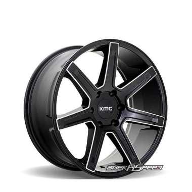 harga KMC Revert (KM700) R20x9 ET15 - PCD 6x139.7 Satin Black Milled | Velg Mobil ORI Blibli.com