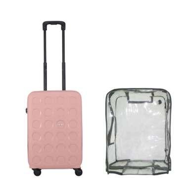 Lojel Vita 2 Koper Hardcase [Cabin/ 21 Inch/ Bundling] + Luggage Cover Cabin