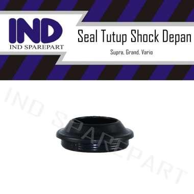 harga IND Onderdil Seal Tutup Shock Depan Supra X 125-Grand-Vario-Revo-Beat FI-Blade HItam
