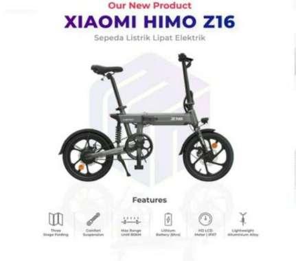 harga Xiaomi Himo Z16 - BOSS PW SHOP - Sepeda listrik - Sepeda lipat - Xiaomi Himo Z16 - ready stock - sepeda murah Blibli.com