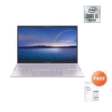 Asus UX425JA-BM502T Notebook - Lilac Mist [i5-1035G1/ 512G PCIe/ 8GB DDR4/ NO ODD/ UMA/ 14.0
