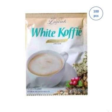 Luwak White Coffee Kopi Instant [100 Sachet]