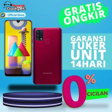Samsung Galaxy M31 [128 GB/ 6 GB] GARANSI RESMI SEIN