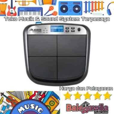harga Drum Pad Elektrik ALESIS Sample Pad ORIGINAL ALESIS SamplePad Multi-Pad Sample Instrument ORIGINAL hitam Blibli.com