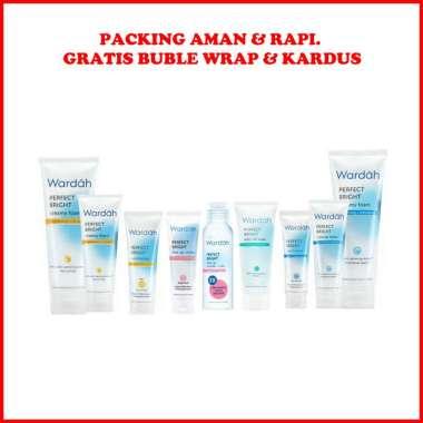 harga Wardah Perfect Bright Series Paket Kosmetik Skincare Perawatan Pemutih Kulit Wajah Hilangkan Noda Hitam Blibli.com