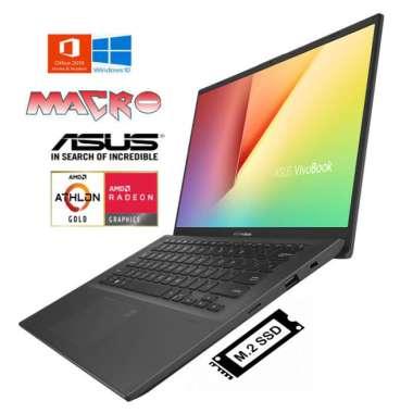 harga ASUS M409DA-31501TS/31502TS Laptop [AMD Athlon Gold 3150U/ UMA/ 4 GB/512 GB SSD/14 inch/ Win 10+ OHS2019] GREY Blibli.com