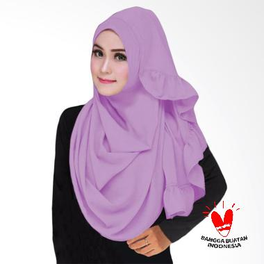 Hijabku Murah Sarah Hijab Instant - Ungu