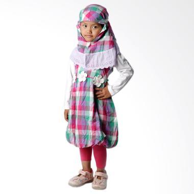 4-you_4-you-moslem-plaid-dress-baju-muslim-anak---ungu_full03 10 List Harga Jual Baju Muslim Anak Terbaru Murah Paling Baru tahun ini