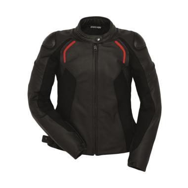 b954b4633e3 Ducati Stealth C2 Leather Lady Jaket Motor - Black