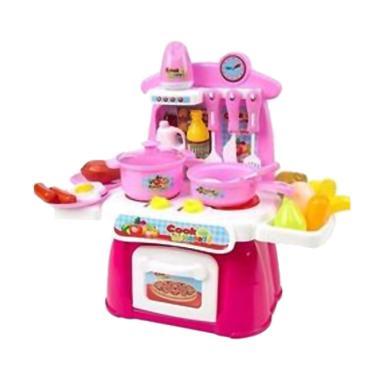 Mao Cook Happy Kitchen Masak-Masakan Set Mainan Anak dbe8343ac4