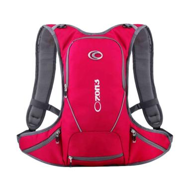 Ozone Bag XT01 Hydropack - Red + Free Helmet Mesh
