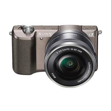 SONY Alfa 5100 Kamera Mirrorless - Brown