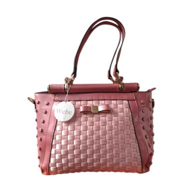Webe Branded Import High Quality Satchel Bag - Pink