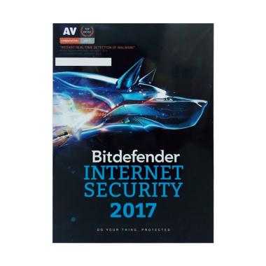 Bitdefender Internet Security 2017 1 Year for 5 PC