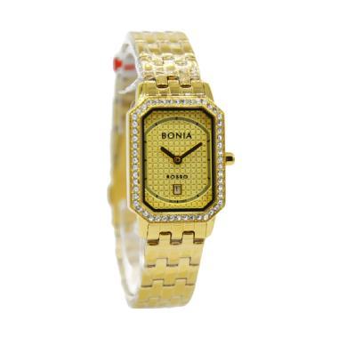 Bonia Rosso BNB10309-2222S Jam Tangan Wanita - Gold