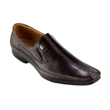 Marelli Shoes Formal  LV 002 Sepatu Pria - Brown