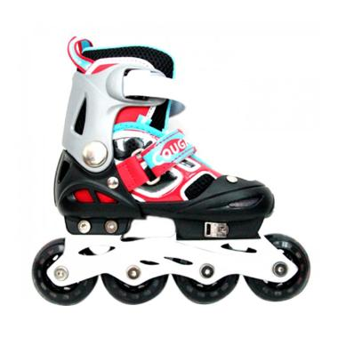 Cougar ADJ. Inline Skate W-ABEC7 MZ ...  Roda - Black Red [30-33]