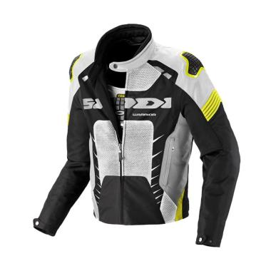 Spidi Warrior Net Jaket Motor - Yellow Fluo