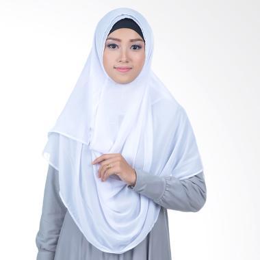 Inara House Pashtan Ceruty Basic Jilbab Instant - Putih