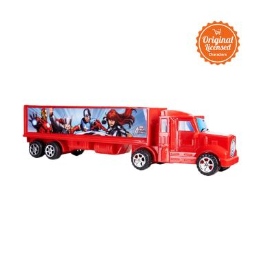 Marvel The Avengers Container Cars Playset Mainan Anak