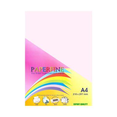 Paperfine Kertas HVS Warna - Rose [A4 / 500 Lembar]