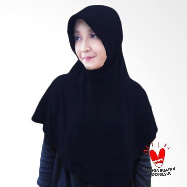 Milyarda Hijab Bergo Plat Kerudung Instant - Navy