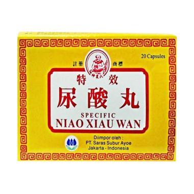 Solusi Tepat Atasi Asam Urat Dengan Specific Niau Xiau Wan 100% Herbal