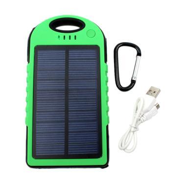 Winner Solar Tenaga Surya Powerbank - Green [5000 mAh]
