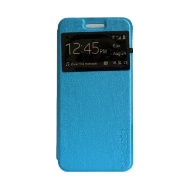 MyUser Flip Cover Casing for Xiaomi Redmi Note - Biru