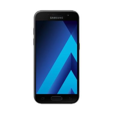 Samsung Galaxy A3 2017 SM-A320 Smartphone - Black [16 GB/ 2 GB]
