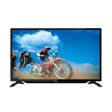Sharp LC40LE185I TV LED - Hitam [40 inch/Khusus Jadetabek]