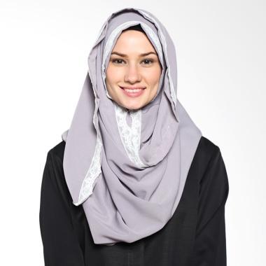 Tatuis Pashmina Damour 044 Pashmina Hijab - Grey