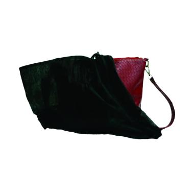 Sarung Tas / Dust Bag / Ugiene Sarung Pembungkus Tas Anti Debu - Hitam [4Pcs]