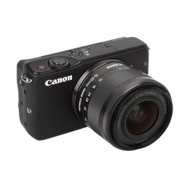 Canon EOS M10 with EF-M15-45mm Kamera Mirrorless - Black