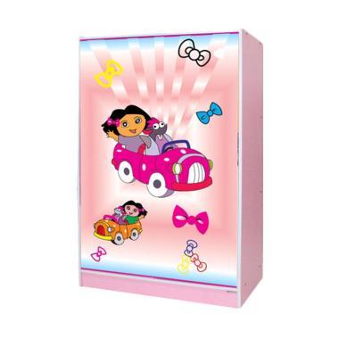 Grace BL 56 CR Motif Lemari Pakaian Anak [2 Pintu/Bandung]