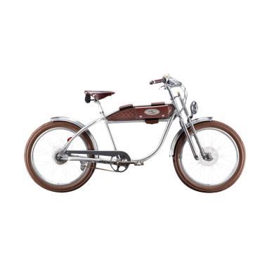 Italjet Ascot Classic Sepeda Listrik - Brown