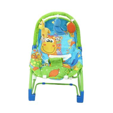 Pliko Rocking Chair Hammock Giraffe Baby Bouncer