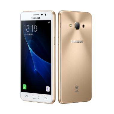 Samsung Galaxy J3 Pro Smartphone - Gold [16 GB/2 GB] + BONUS 2 ITEM