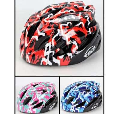 harga Helm Sepeda Anak Helm Sepatu Roda Anak merk Flying Eagle BKB. L pink Blibli.com