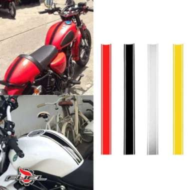 harga Sticker Stripes Stripping Japstyle Scrambler Harley Triump BMW CB GSX Blibli.com